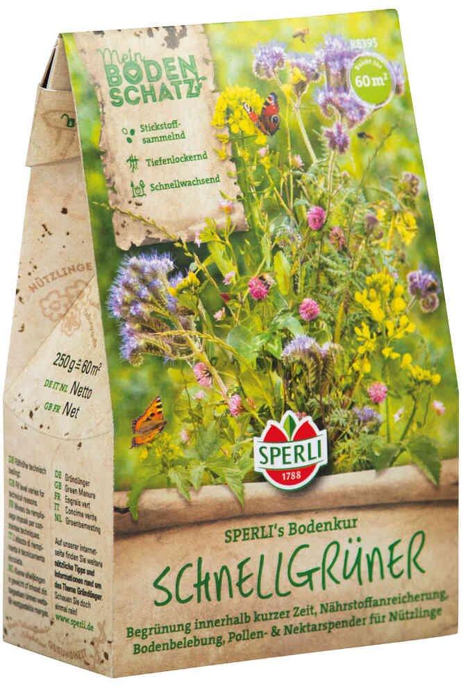 Blomster frøblanding Hurtigvoksende