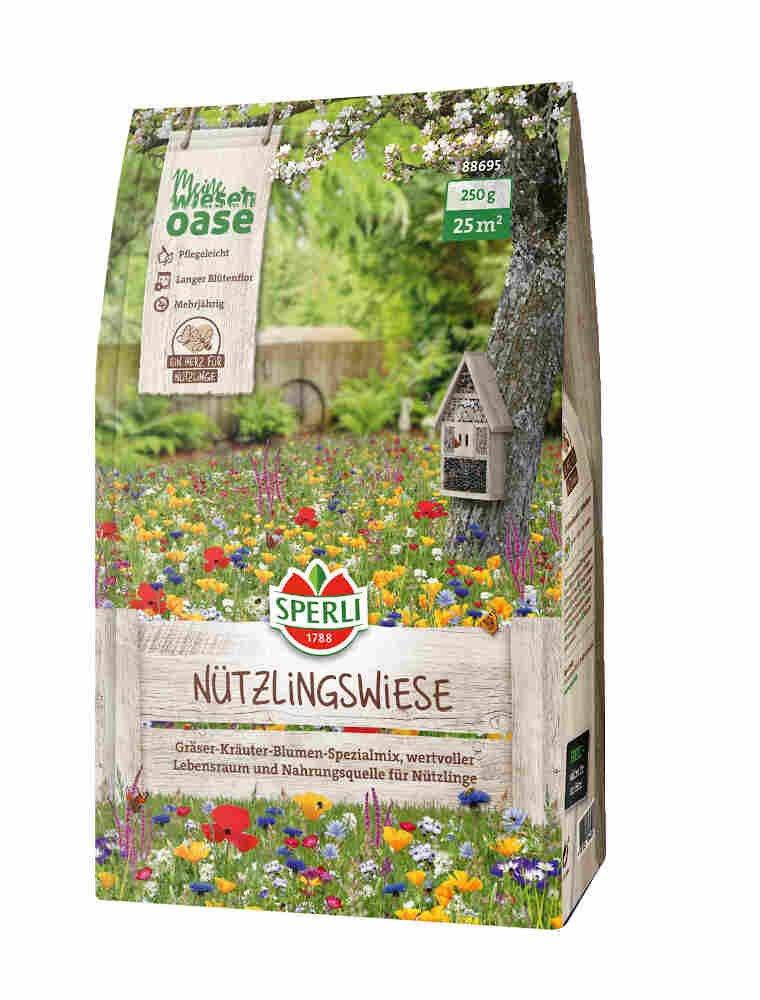 Blomster-græs til insekter - Nutzlingswiese
