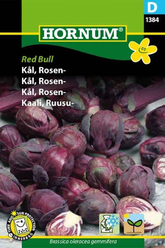 Kålfrø - Rosenkål- Red Bull