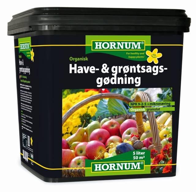 Have og Grøntsagsgødning - organisk 5L