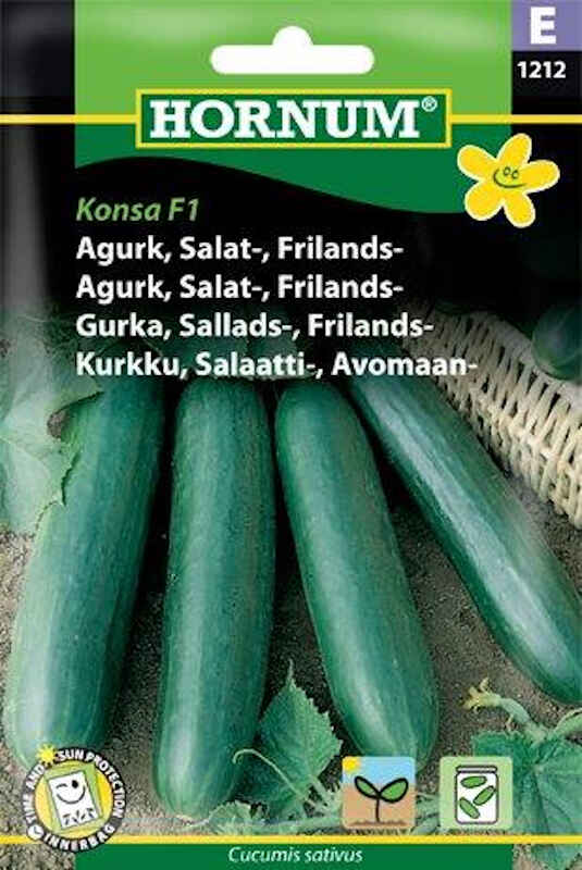 Agurkefrø - Frilandsagurk - Konsa F1