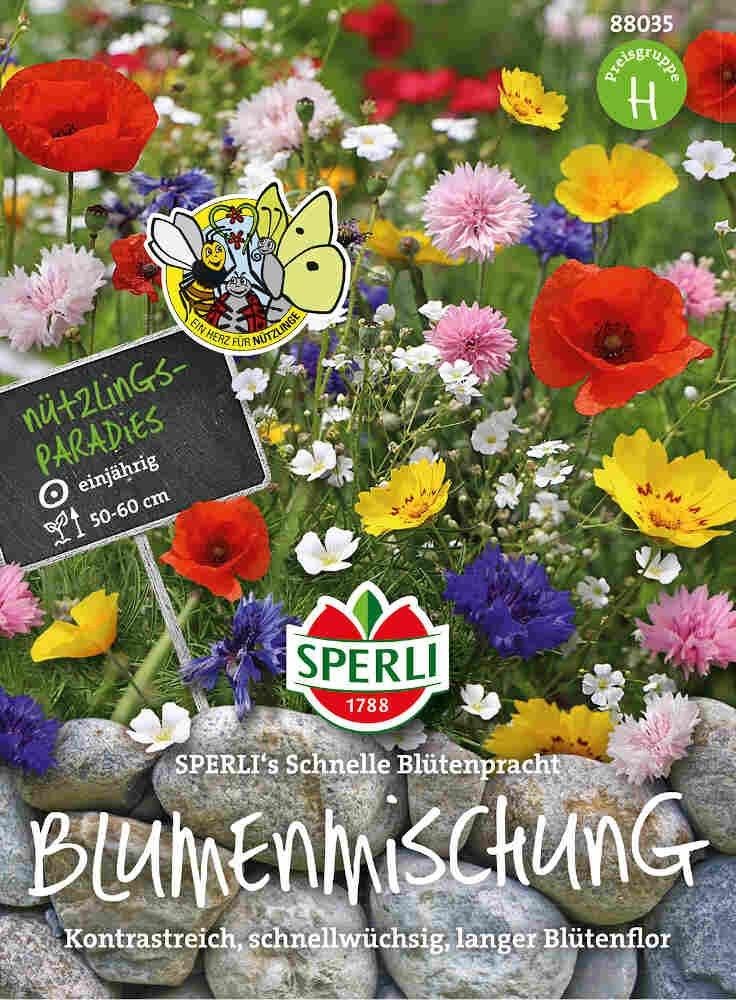Blomster frøblanding - hurtigvoksende