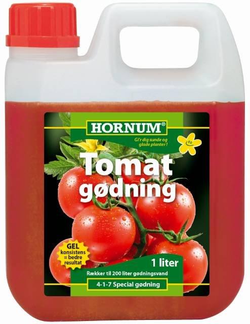 Tomatgødning 1 l. - HORNUM
