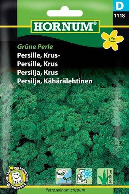 Persillefrø - Kruspersille - Grüne Perle