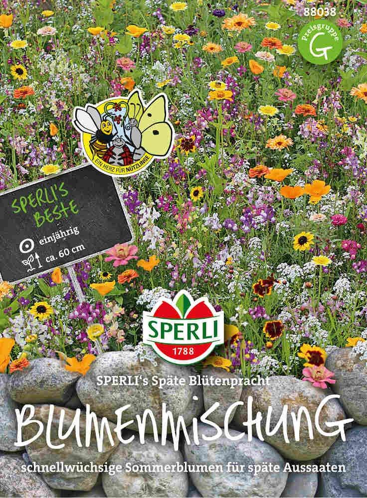 Blomster frøblanding - Späte Blütenpracht