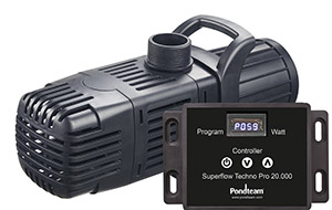 Havedamspumpe - Superflow Techno Pro 22000S