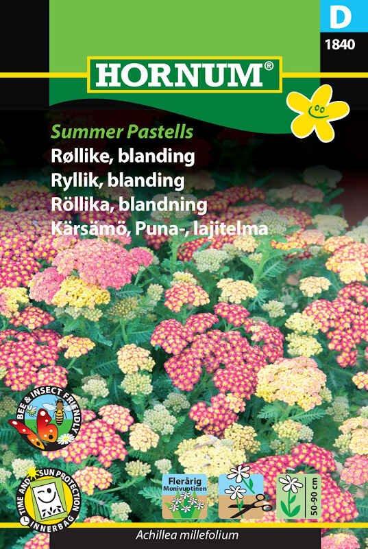 Røllike frø - blanding Summer Pastells