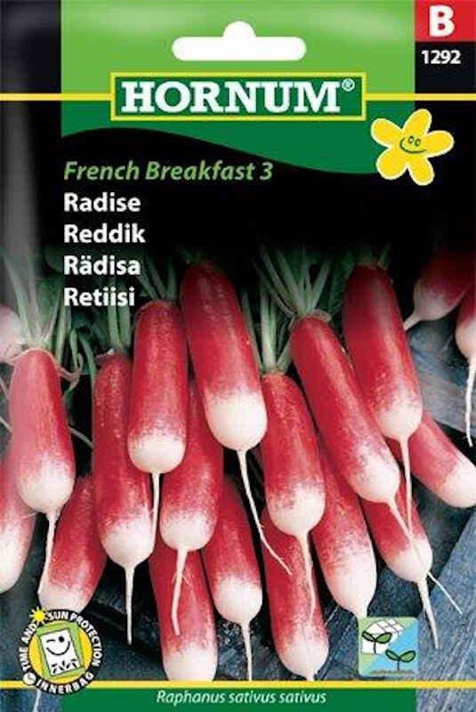 Radisefrø - French Breakfast 3