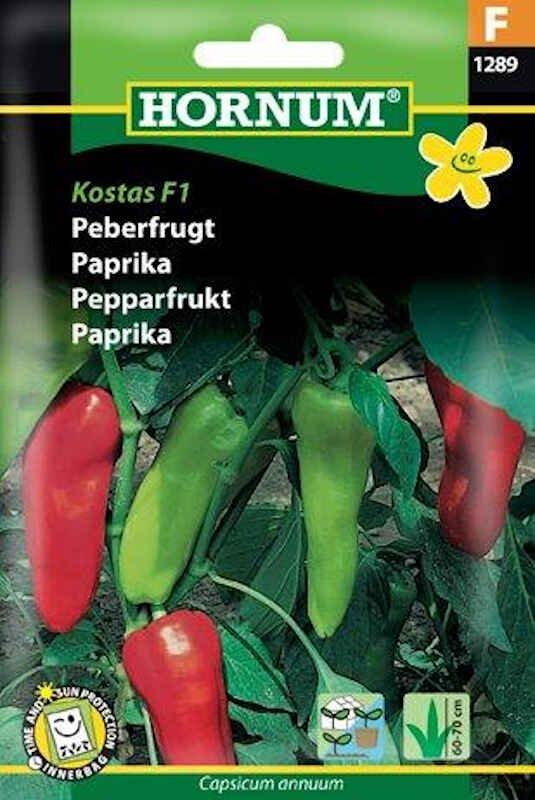 Peberfrugt, Kostas F1