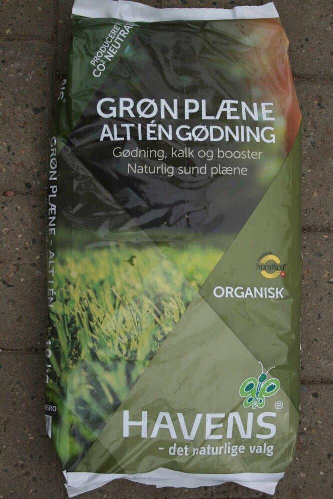 Havens plænegødning - Grøn plæne 10kg