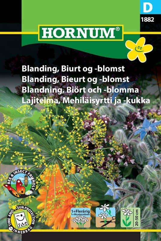Blomster frøblanding - Biurt og -blomst
