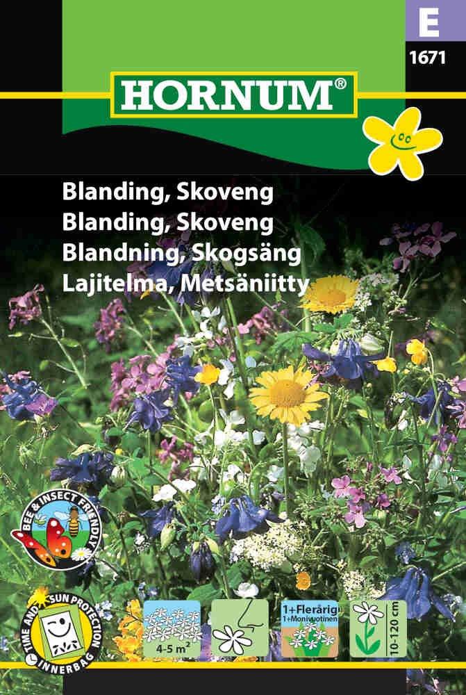 Blomster frøblanding - Skoveng