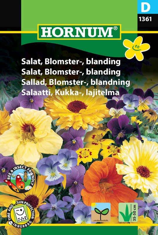 Salatfrø - Blomster - blanding