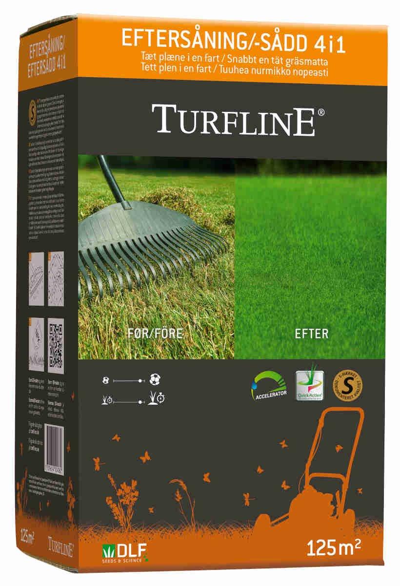 Turfline Eftersåning 4i1 - 2,5kg - 125m2