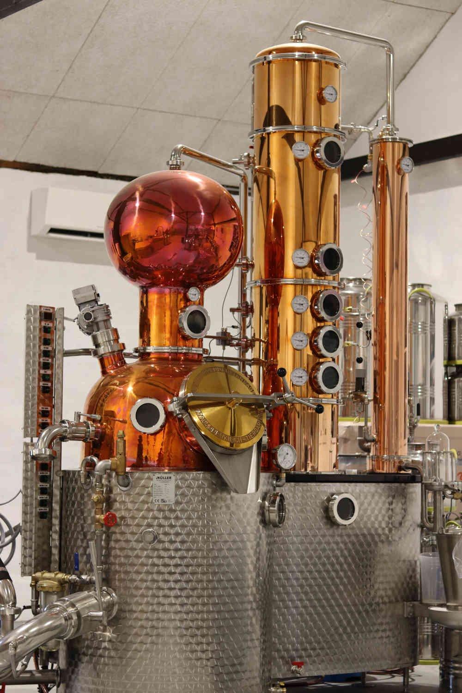 TONOW destilleri fra Müller brennereianlagen