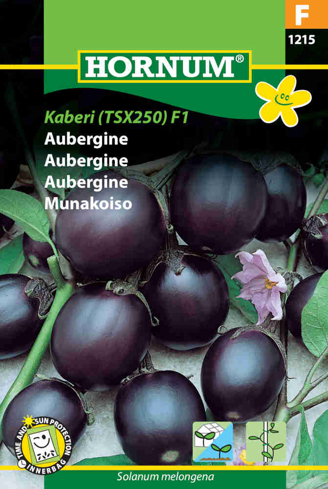 Aubergine frø - Ophelia F1 Hybride