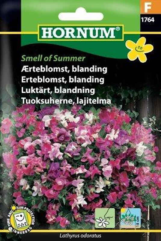 Ærteblomstfrø - blanding Smell of Summer