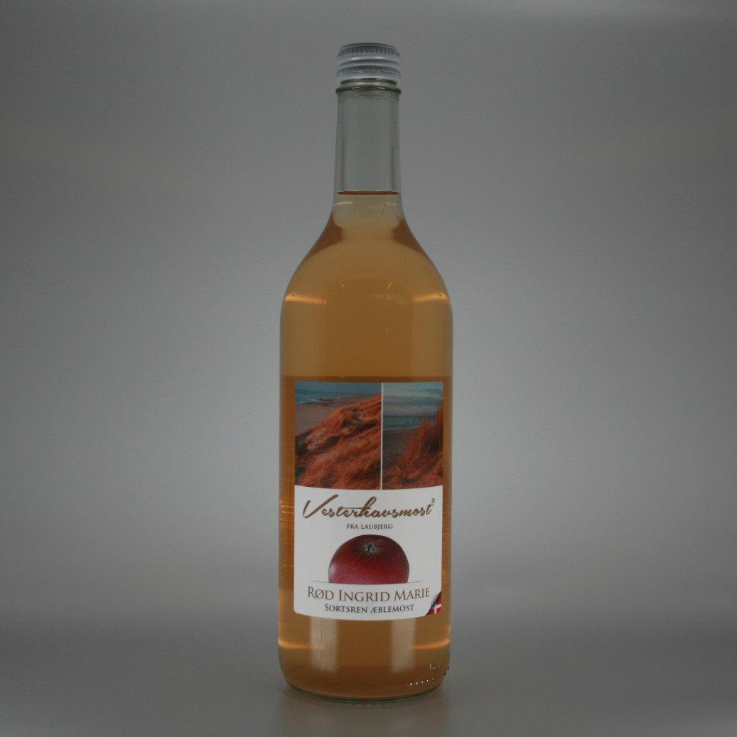 Vesterhavsmost æblemost Rød Ingrid Marie 0,75L