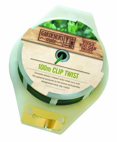 Clip Twist & Cutter 100m