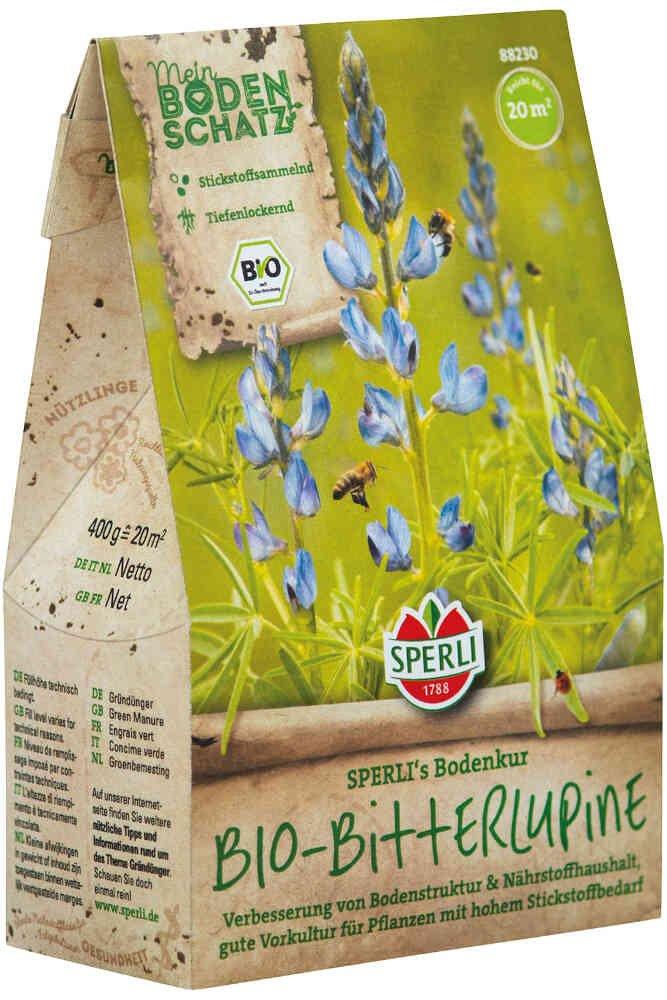 Grøngødning - Blå lupin - Økologisk