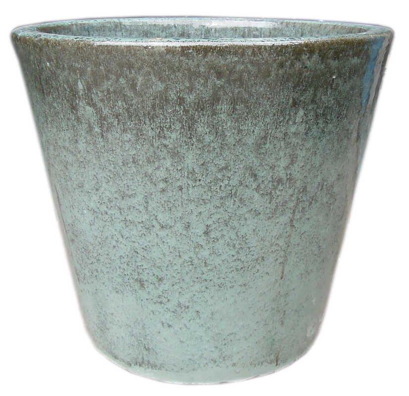 Cone pot  S/3 - Moss Green D21