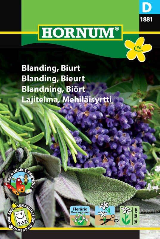 Blomster frøblanding - Biurt