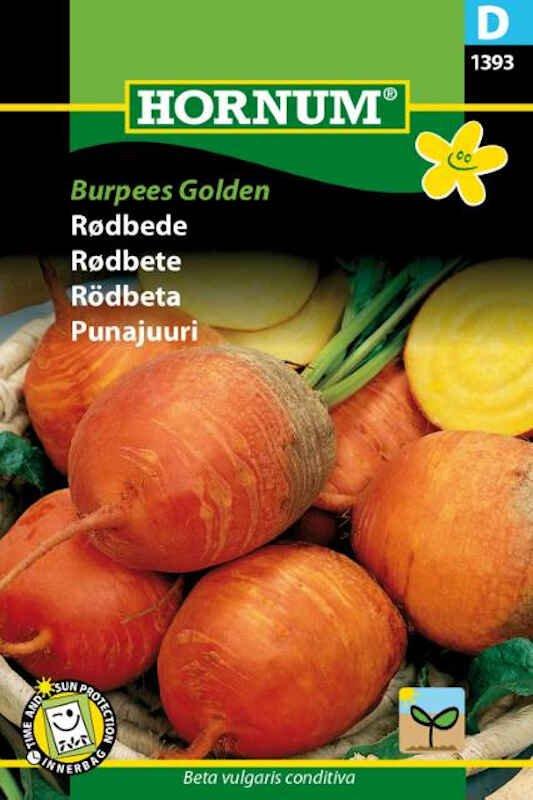 Rødbedefrø - Burpees Golden