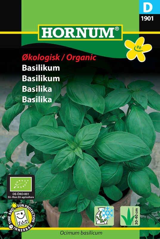 Basilikum frø - Økologisk