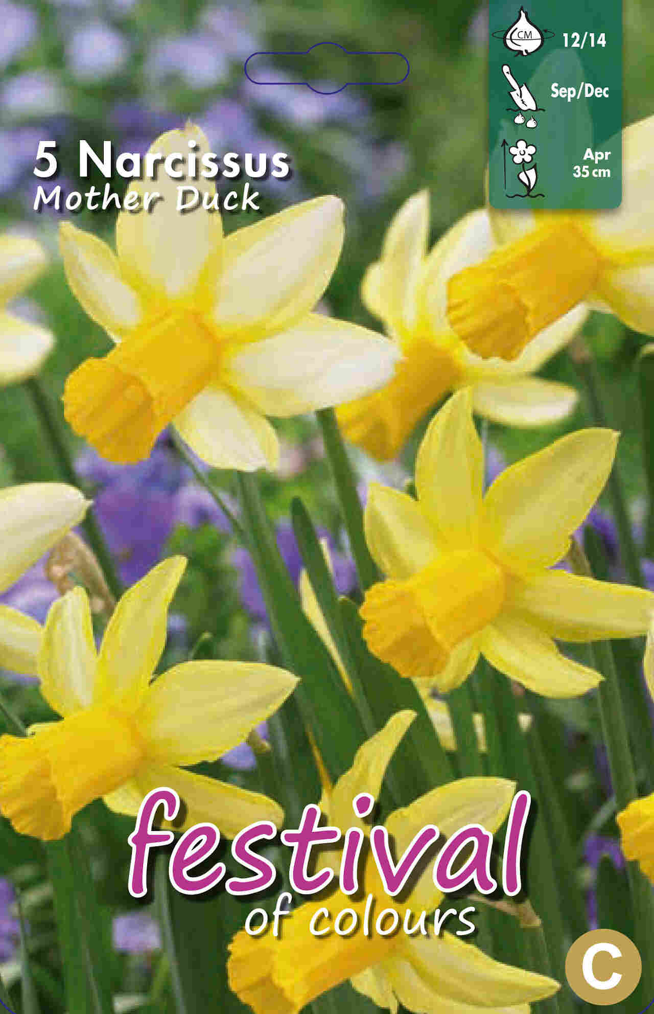 Påskeliljeløg - Narcissus Mother Duck 12/14