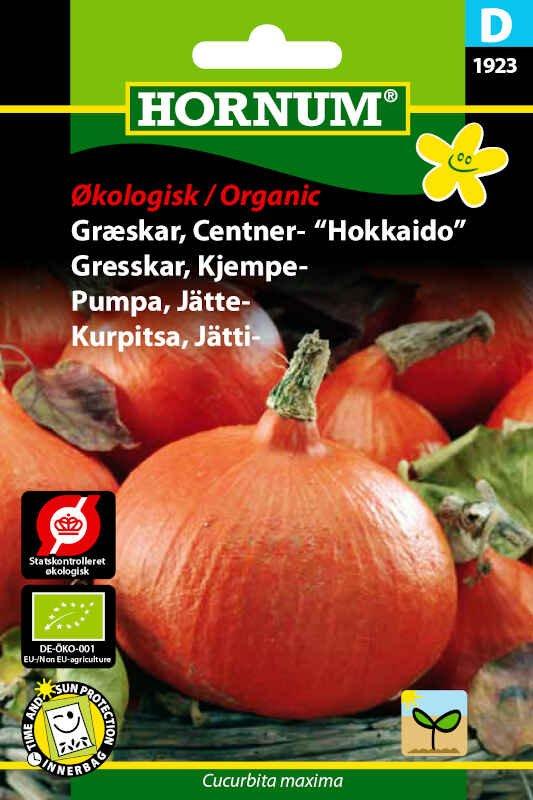 Økologisk Græskar frø - Centner - Uchiki Kuri