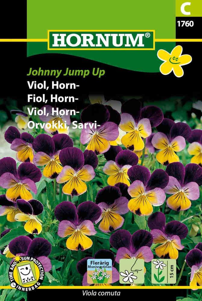 Hornviol frø - Johnny Jump Up