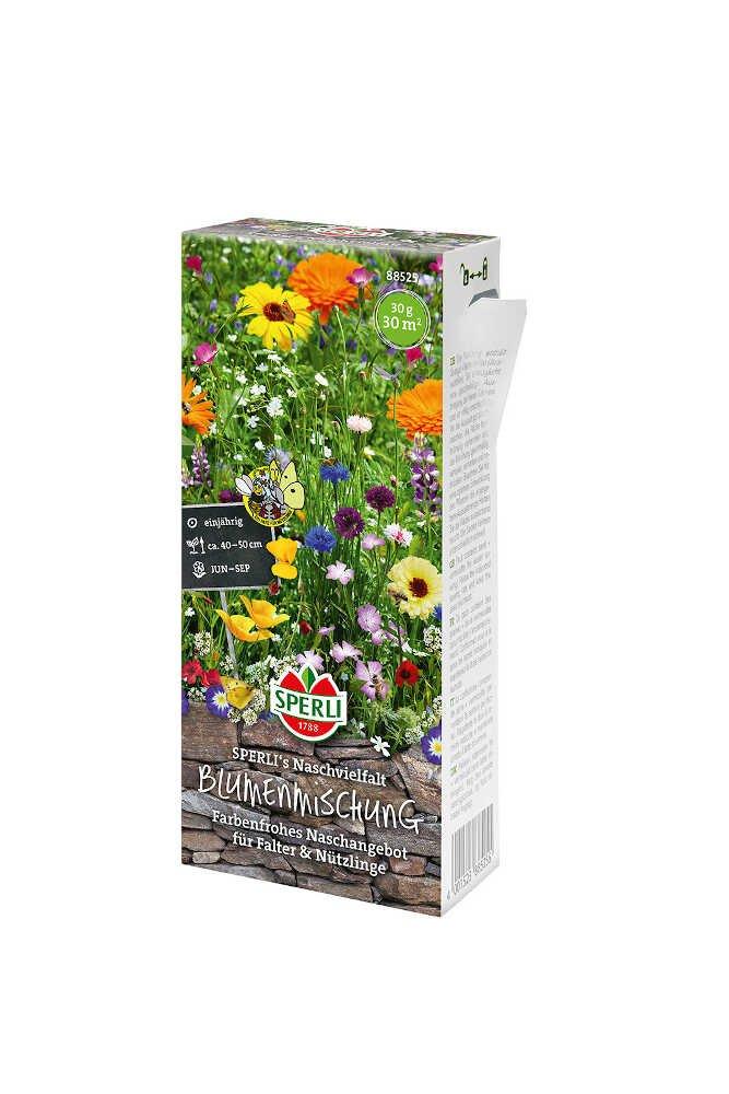 Blomster frøblanding - fugtig jord - Nyhed