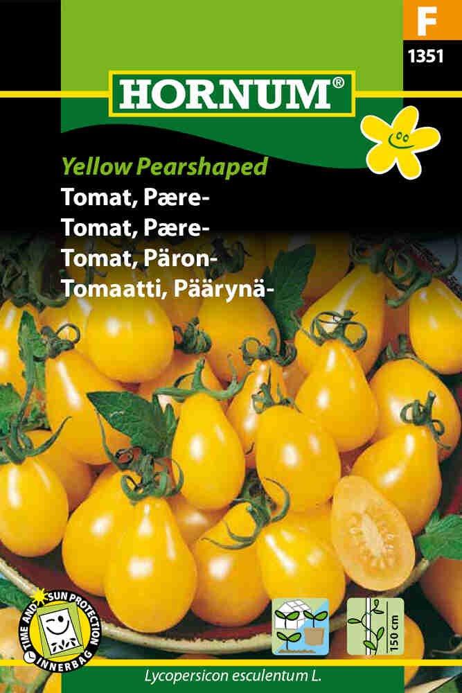 Tomatfrø - Pære - Yellow Pearshaped