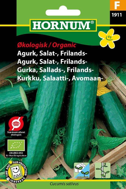 Økologisk Agurke frø - Salatagurk - Frilands - Sonja