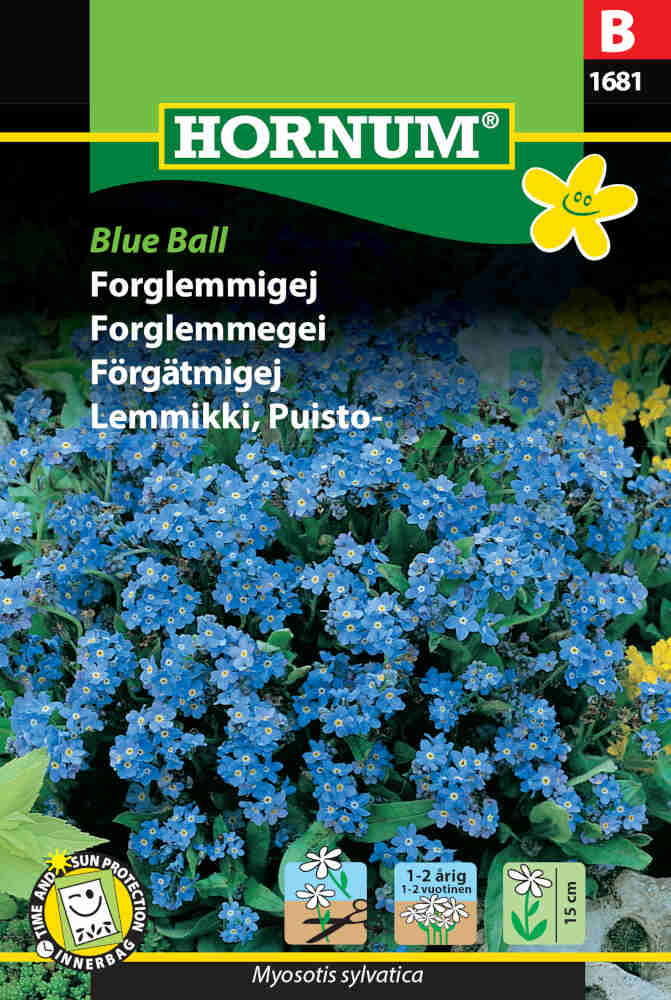 Forglemmigej frø - Blue Ball