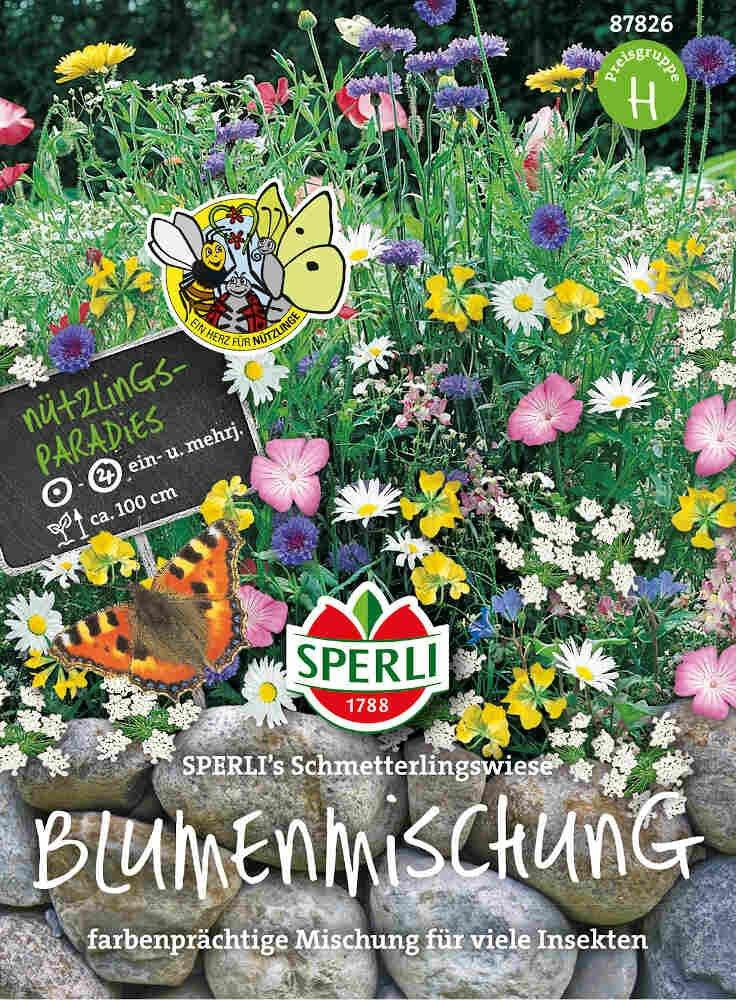 Blomster frøblanging - Schmetterlingswiese
