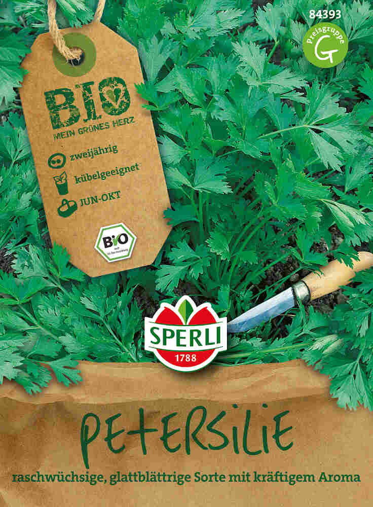 Glatbladet persille - Petersilie Laica - Økologisk