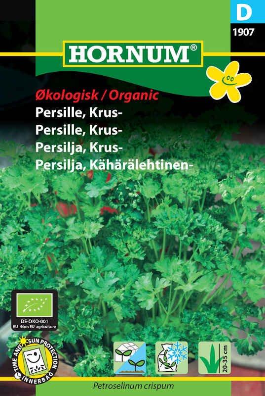 Kruspersille frø - Grüne Perle - Økologisk