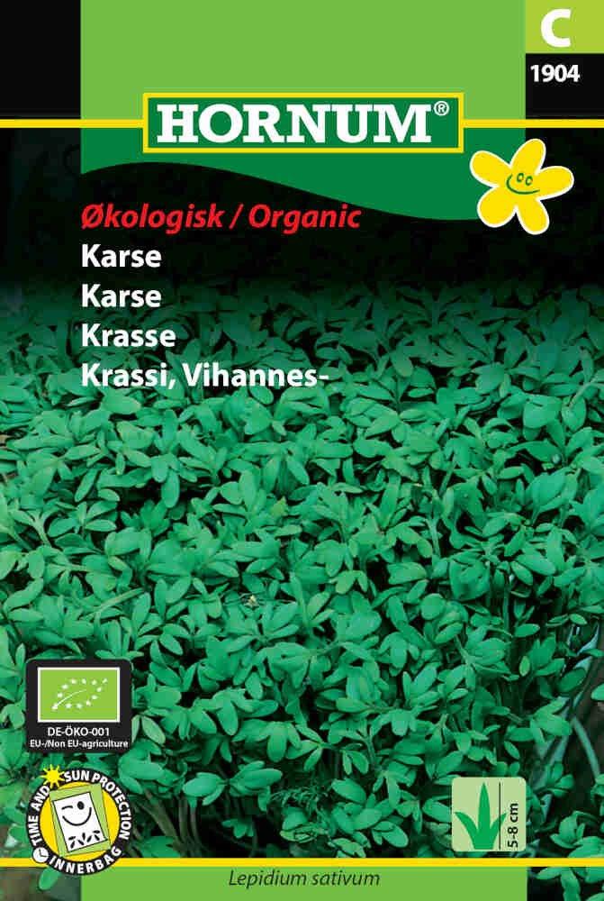 Karse frø - Økologisk