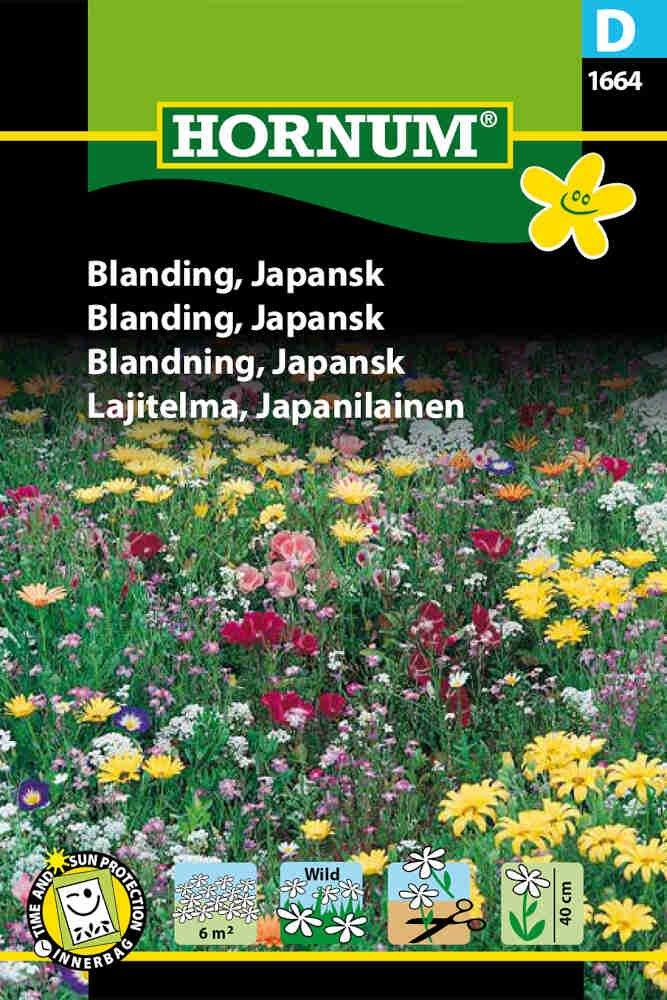 Blomster frøblanding - Japansk - Hornum