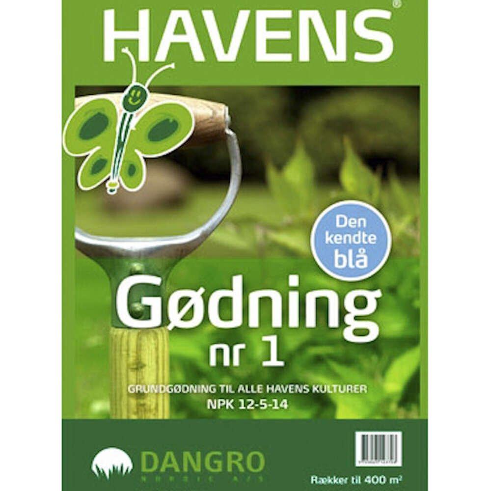 Havegødning - HAVENS no.1 - 15kg