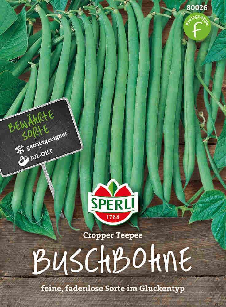 Buskbønne - Buschbohne Cropper Teepee