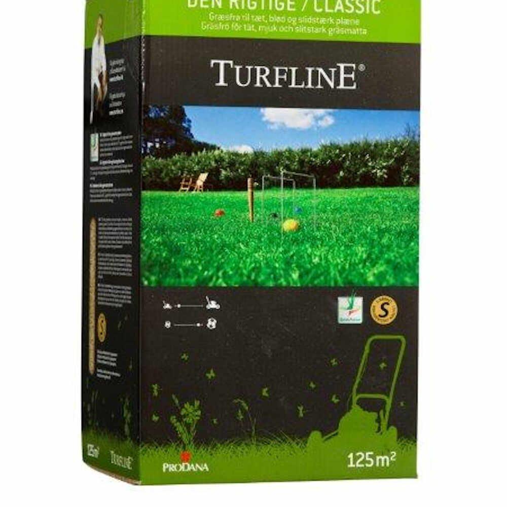 Græsfrø - Turfline Den rigtige Græsplæne, 2,5 kg