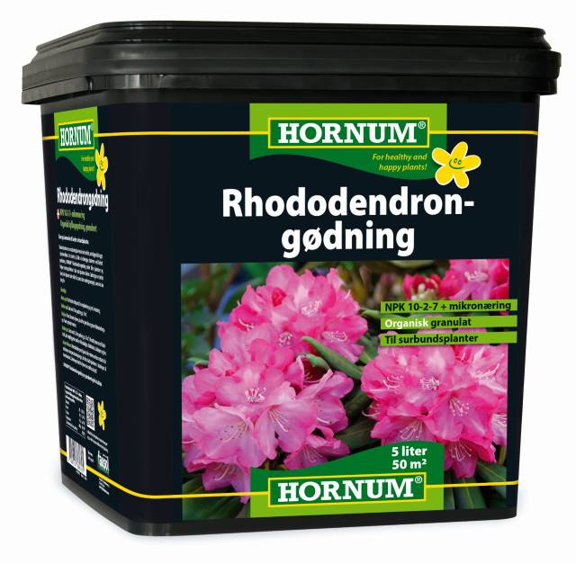 Organisk Rhododendron gødning 5L