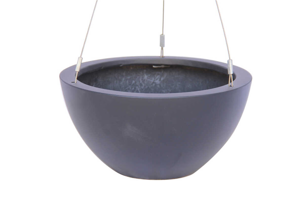 Hanging Pot -  Black - D29,5