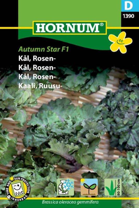 Kålfrø - Rosenkål- Autumn Star F1
