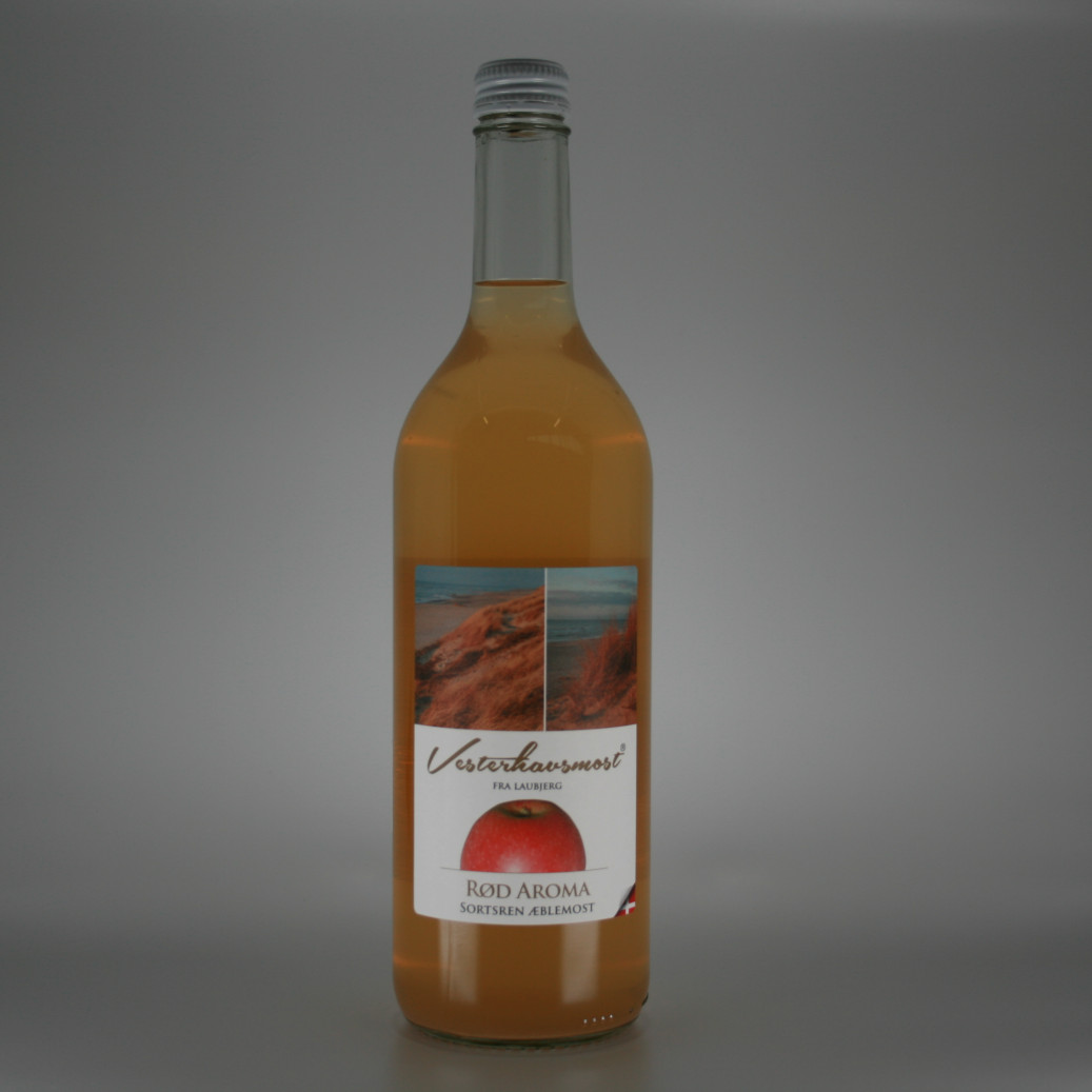 Vesterhavsmost Æblemost Rød Aroma 0,75L