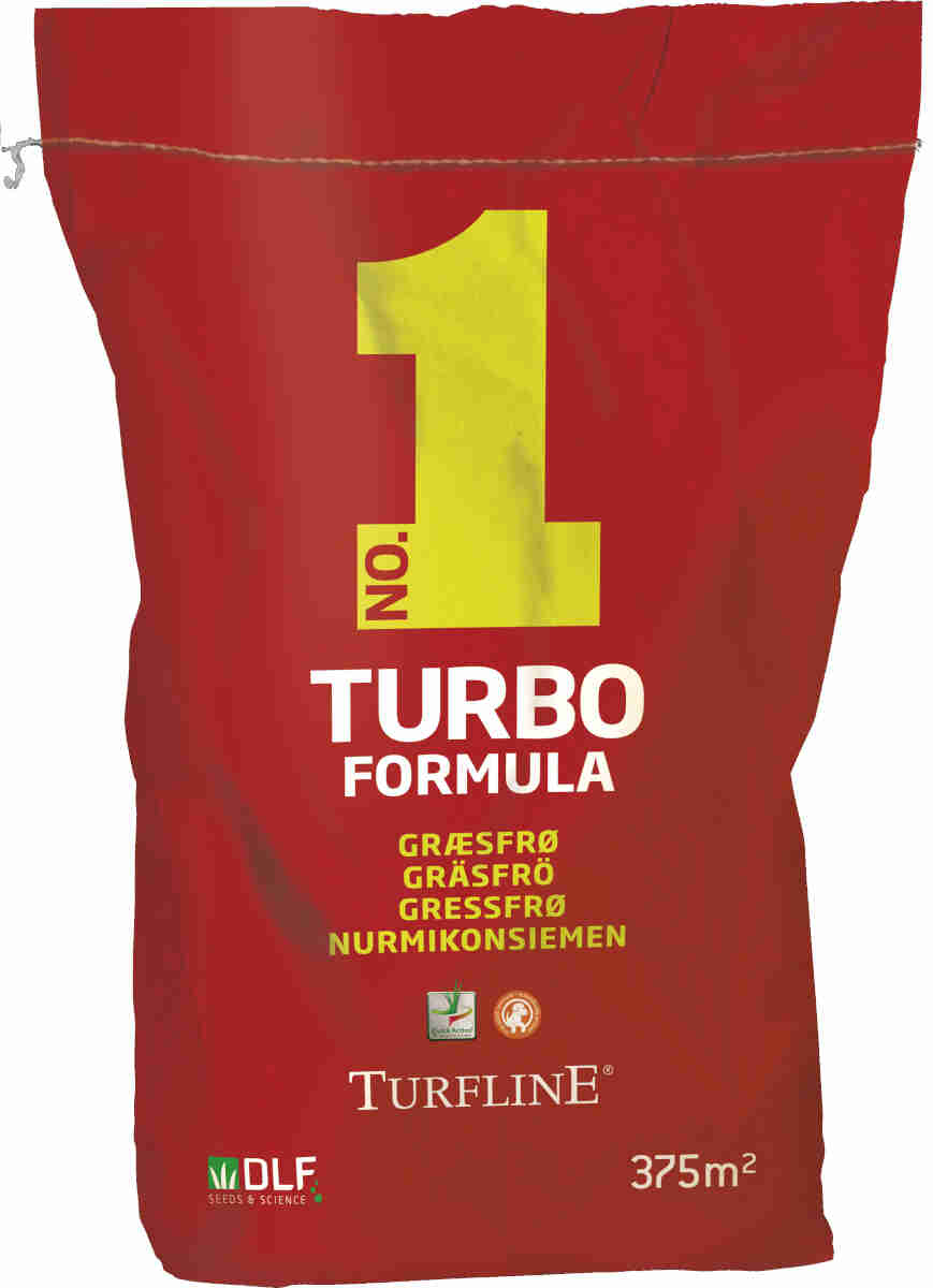 Turfline Turbo, 7,5 kg - Græsfrø