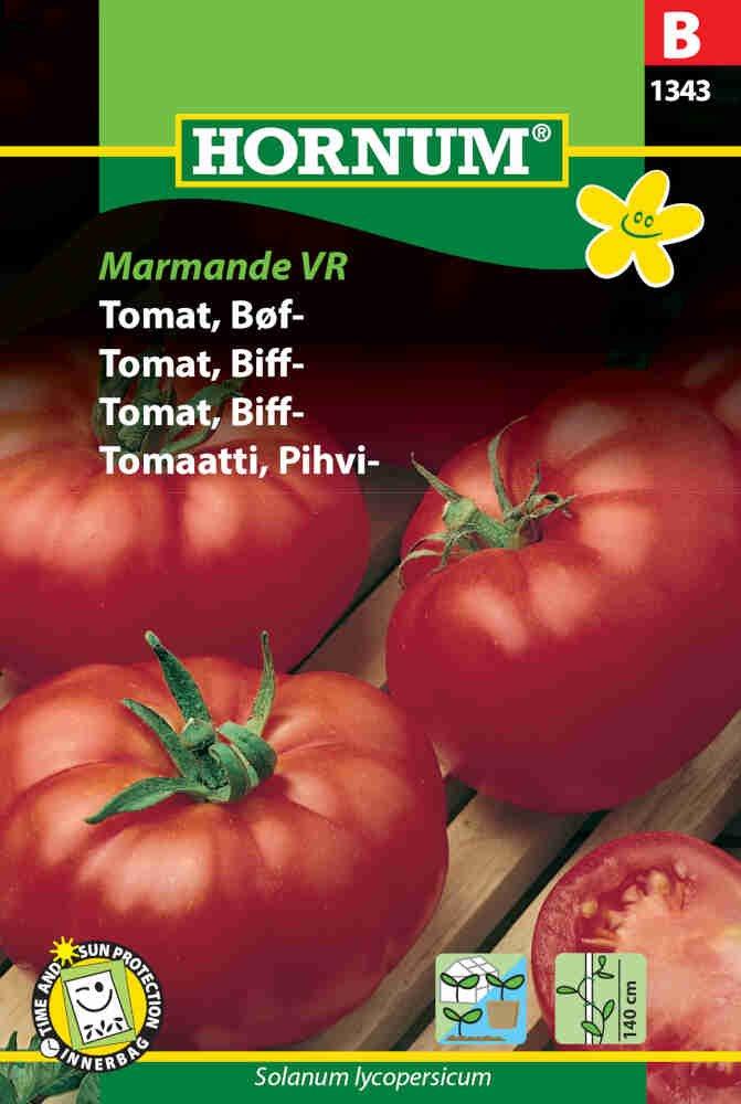 Tomatfrø - Bøftomat - Marmande