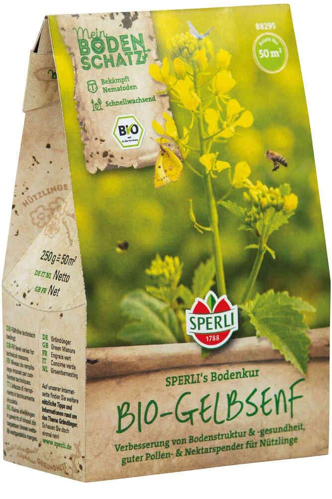 Grøngødning - Gul Sennep - Økologisk